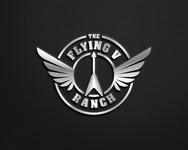 The Flying V Ranch Logo - Entry #110