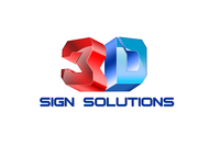 3D Sign Solutions Logo - Entry #8