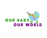 Logo for our Baby product store - Our Baby Our World - Entry #24