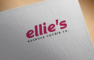 ellie's essence candle co. Logo - Entry #63