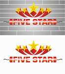 Five Star Logo - Entry #68