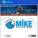 Mike the Poolman  Logo - Entry #125