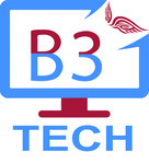 B3 Tech Logo - Entry #37