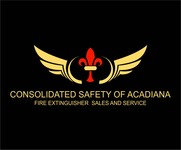 Consolidated Safety of Acadiana / Fire Extinguisher Sales & Service Logo - Entry #112