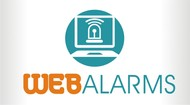 Logo for WebAlarms - Alert services on the web - Entry #186
