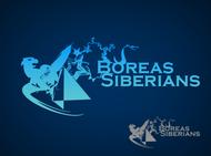 Siberian Husky Logo - Entry #2