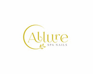 Allure Spa Nails Logo - Entry #105