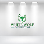 White Wolf Consulting (optional LLC) Logo - Entry #489