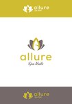 Allure Spa Nails Logo - Entry #17