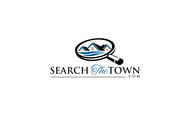search the town .com     or     djsheil.com Logo - Entry #107