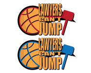 "charity basketball event logo (name with logo is ""lawyers can't jump"") - Entry #9"