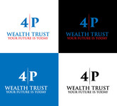 4P Wealth Trust Logo - Entry #162