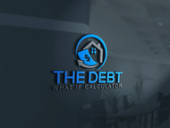 The Debt What If Calculator Logo - Entry #124