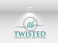Twisted Turquoise Boutique Logo - Entry #4