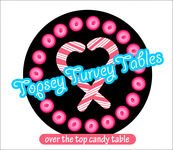 Topsey turvey tables Logo - Entry #103