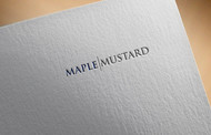Maple Mustard Logo - Entry #23