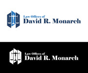 Law Offices of David R. Monarch Logo - Entry #8