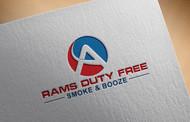 Rams Duty Free + Smoke & Booze Logo - Entry #39