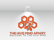 The Hive Mind Apiary Logo - Entry #114