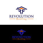 Revolution Roofing Logo - Entry #6