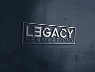LEGACY RENOVATIONS Logo - Entry #11
