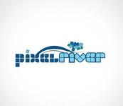 Pixel River Logo - Online Marketing Agency - Entry #225