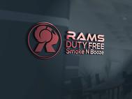 Rams Duty Free + Smoke & Booze Logo - Entry #246