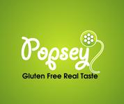 gluten free popsey  Logo - Entry #155