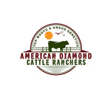American Diamond Cattle Ranchers Logo - Entry #102