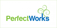 Perfect Works Logo - Entry #14