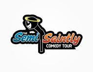 The Semi-Saintly Comedy Tour Logo - Entry #38