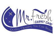 Mr. Fresh Carpet Care Logo - Entry #73