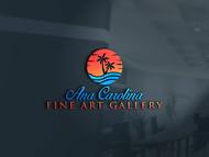 Ana Carolina Fine Art Gallery Logo - Entry #214
