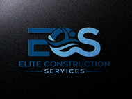 Elite Construction Services or ECS Logo - Entry #232
