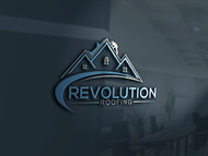 Revolution Roofing Logo - Entry #81