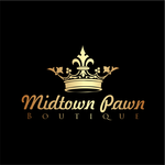 Either Midtown Pawn Boutique or just Pawn Boutique Logo - Entry #96