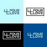 Four love Logo - Entry #298
