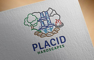 Placid Hardscapes Logo - Entry #24