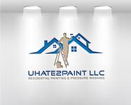 uHate2Paint LLC Logo - Entry #89