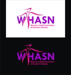 WHASN Women's Health Associates of Southern Nevada Logo - Entry #17