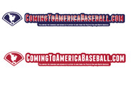 ComingToAmericaBaseball.com Logo - Entry #26