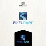 Pixel River Logo - Online Marketing Agency - Entry #52