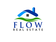 Flow Real Estate Logo - Entry #78