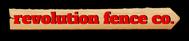 Revolution Fence Co. Logo - Entry #396