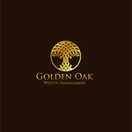 Golden Oak Wealth Management Logo - Entry #92