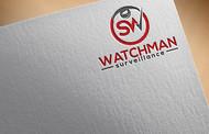 Watchman Surveillance Logo - Entry #232