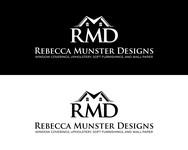 Rebecca Munster Designs (RMD) Logo - Entry #206