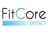 FitCore District Logo - Entry #95