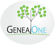 GeneaOne Logo - Entry #65