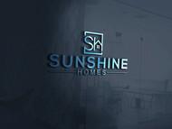 Sunshine Homes Logo - Entry #171